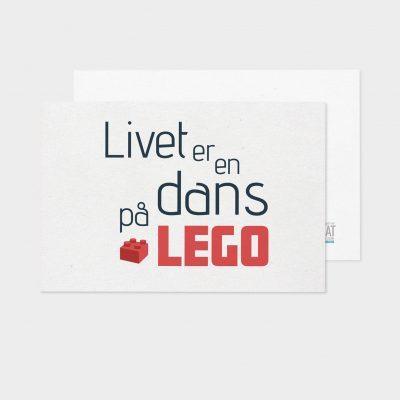 Probat - Kort - Dans på LEGO