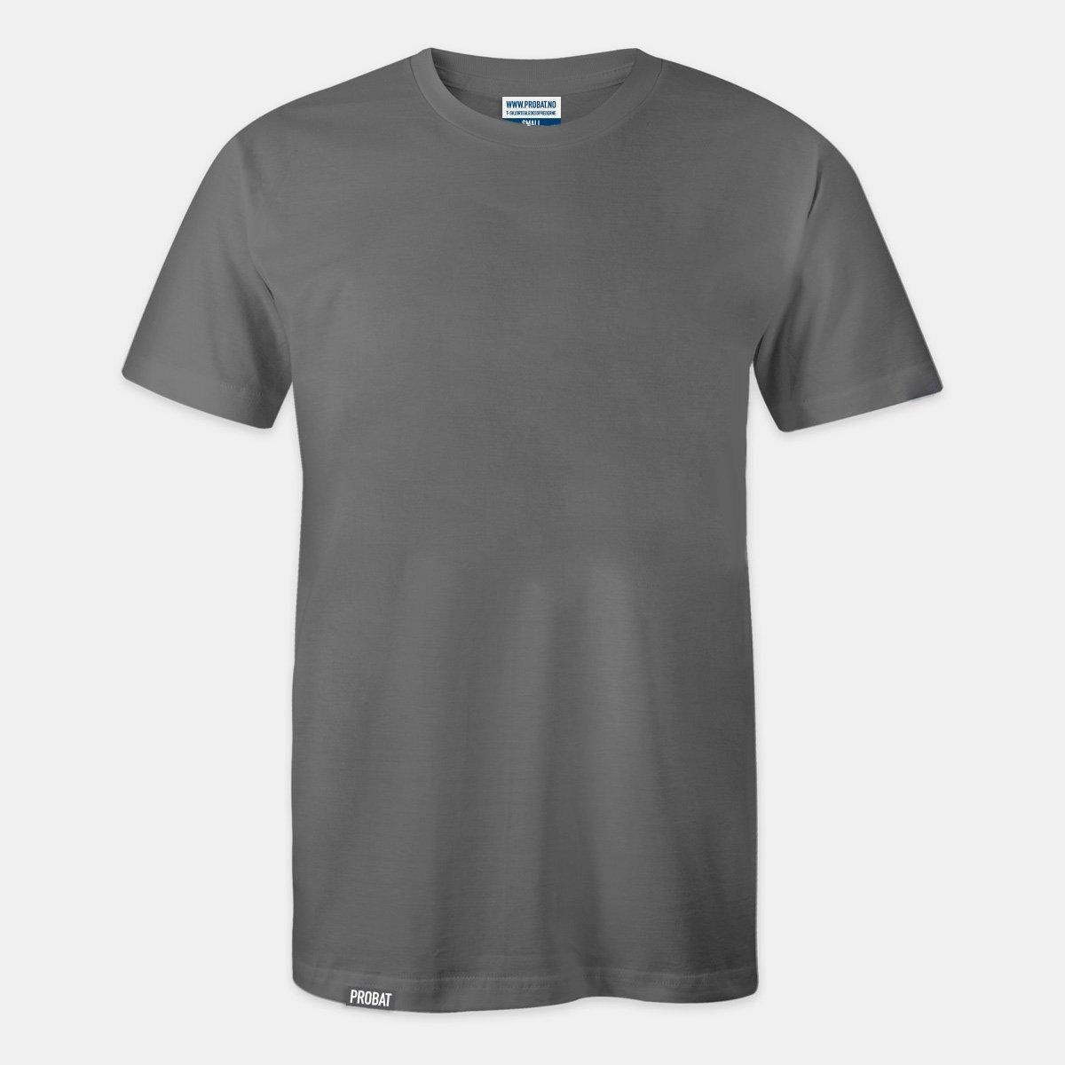 Probat - Trøye uten trykk - mørk grå